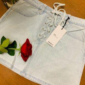 NWT Forever 21 Denim Skirt